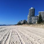  view down to Broadbeach