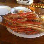  snow crab legs.
