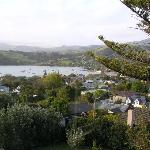 View over Akaroa from bedroom