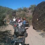 ATV tour at the ranch