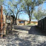 Cerrillos Hills B&B Entrance