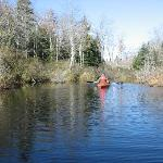  kayaking on Williams Pond