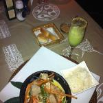  Tuna Curry and Pisco Sour
