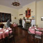 Dining Room showing the old Colonial fireplace