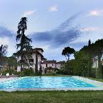  La Canonica, panoramic view from the pool