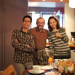 Jay, Didier and Rin... great host...making us feel like home :)