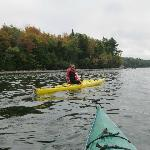 Kayaks and canoes are available for your use... free! Kayaks, PFDs, and paddles in good conditi