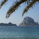 Es Vedra from Cala D'Hort beach