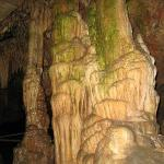 Large formation inside Onyx Cave...