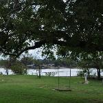 Granbury Lake from the backyard