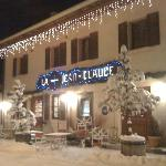 Restaurant at Le Croix Jean Claude in the centre of Les Allues Village