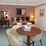 Our spacious room at Malborough House