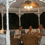  A magical dinner in the Gazebo!