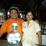 Carlos the daytime bartender and Nancy the hostess