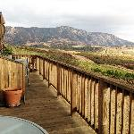 The view of the Pinnacles from our deck