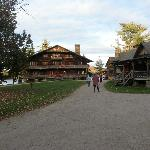 View of Great Camp Sagamore main lodge