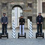 Prague Segway castle guard