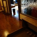  Entryway into the room (sliding Japanese doors)