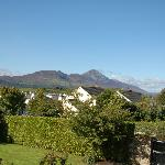 The view of Croagh Patrick from the dining room!