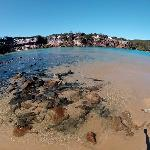 Wooli River rivermouth, a few minutes drive and the PERFECT spot for kids to swim