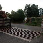 Entrance to the property (cattle grid)