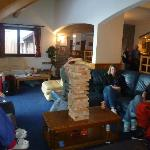 Giant Jenga - one of ours is behind the tower!