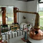 Part of the distillery tour