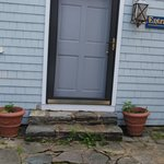  The plantings by the front door