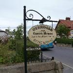 Overdale Guest House sign