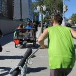 rickshaw ride in ottawa on