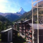 The Matterhorn from Hotel Antika