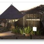 New Safari Lodge Entrance
