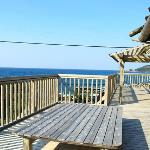  Our private sun deck!