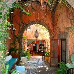  Enter into a beautiful courtyard filled with history! You&#39;ll feel at peace the moment you enter.