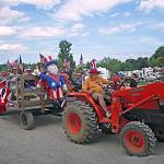 Enjoy a hayride around the campground!