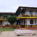 Main buiding, 'hacienda' architecture
