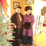 Guests enjoy dressing up for our Victorian Christmas Celebration