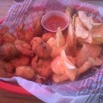 shrimp n chips basket