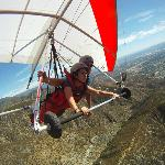 Hang gliding in San Bernardino, CA