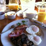 Cooked breakfast on the weekend
