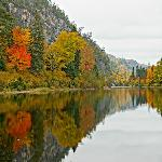 Agawa Canyon autumn colours