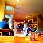 Beer at The Fleece, Witney