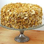 Coffee crunch cake from the Sweet Stop