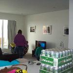 living room, and our ummm refreshments