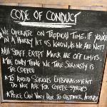 "origin Espresso's ""Code of Conduct""."