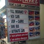 car hire BEWARE