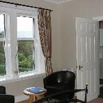 Room 2 sitting area and view