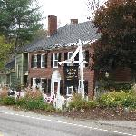  front of the inn, facing the highway