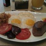 Filet and Eggs ~ Breakfast Delight!