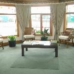 Reception Area At Amber Court Motel Taranaki